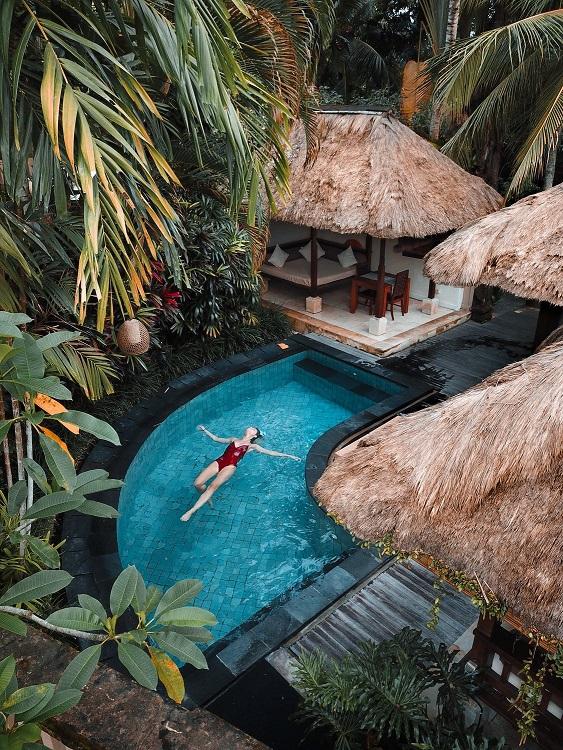 Wat dacht je van een hotelkamer met privé zwembad?